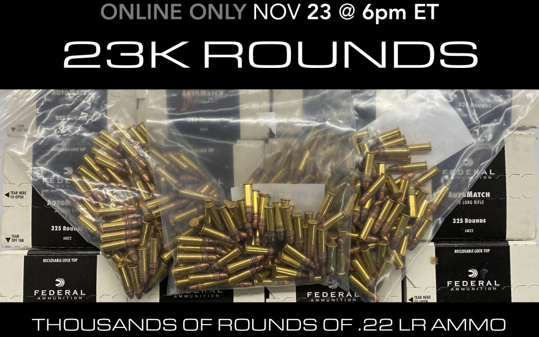 23K Rounds on 11/23