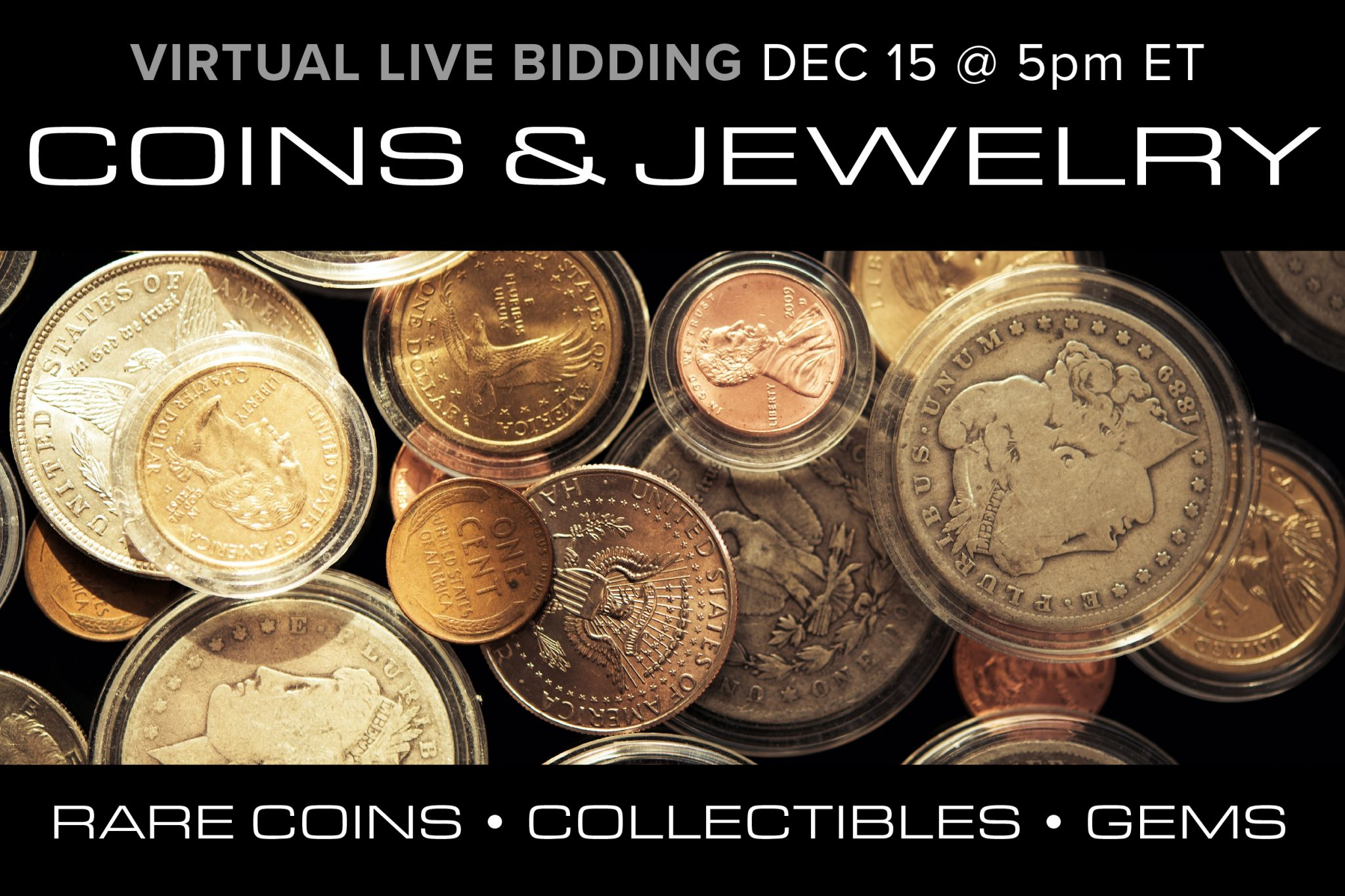 December 2020 Jewelry Coin Collectible Auction