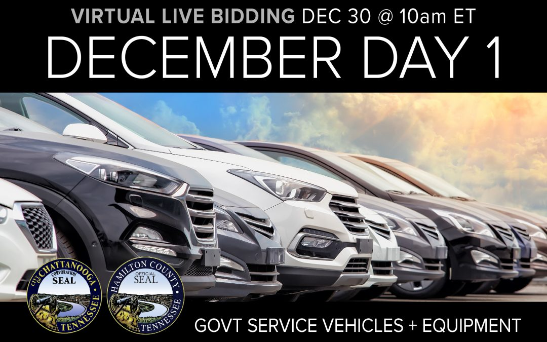 December Monthly Auction Day 1
