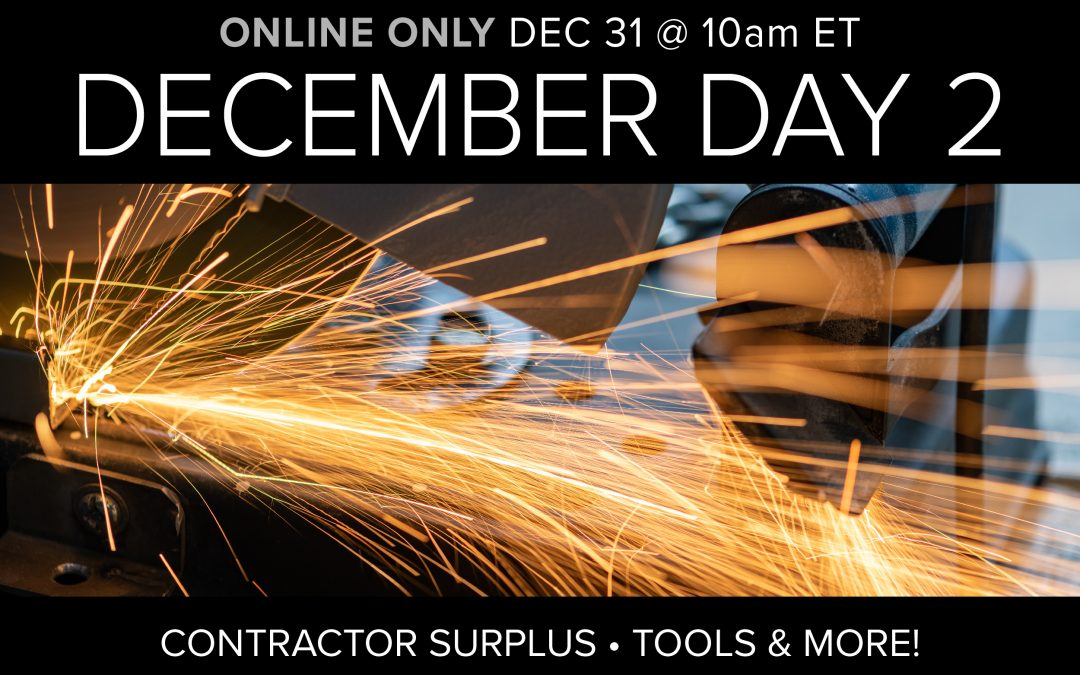 December Monthly Auction Day 2