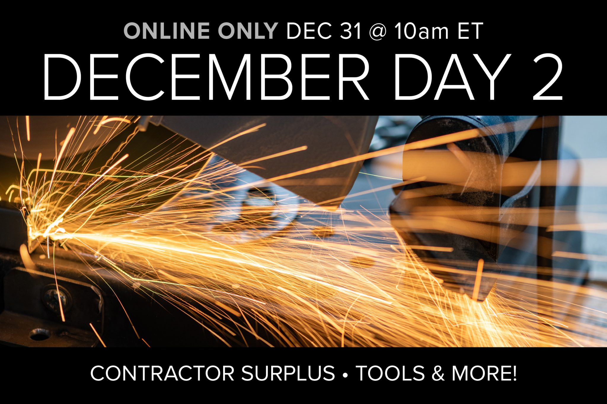 Industrial & Construction Equipment Tools December 2020 Auction