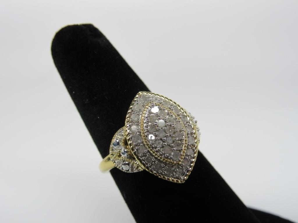 0.25 CTS DIAMOND RING - 16