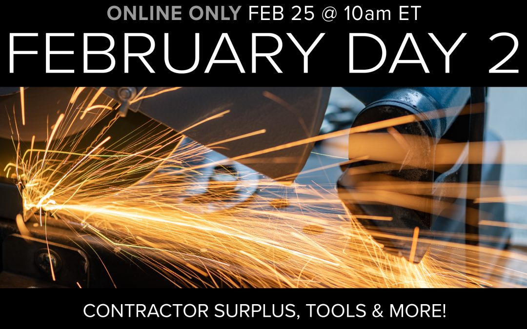 Feb Monthly Day 2 Auction