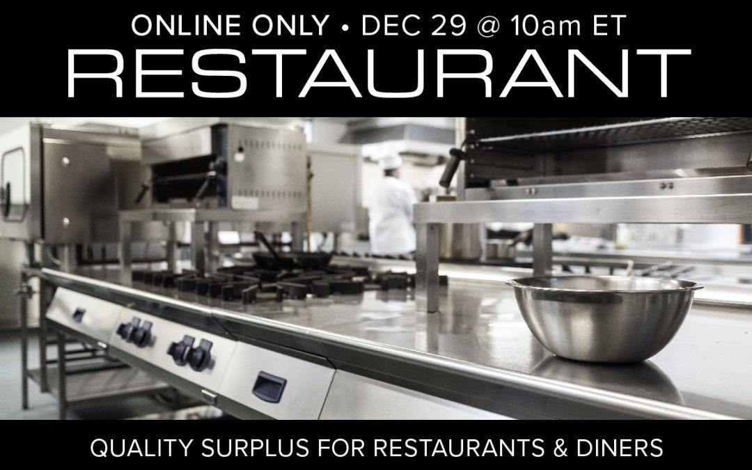 Restaurant Equipment and Supply