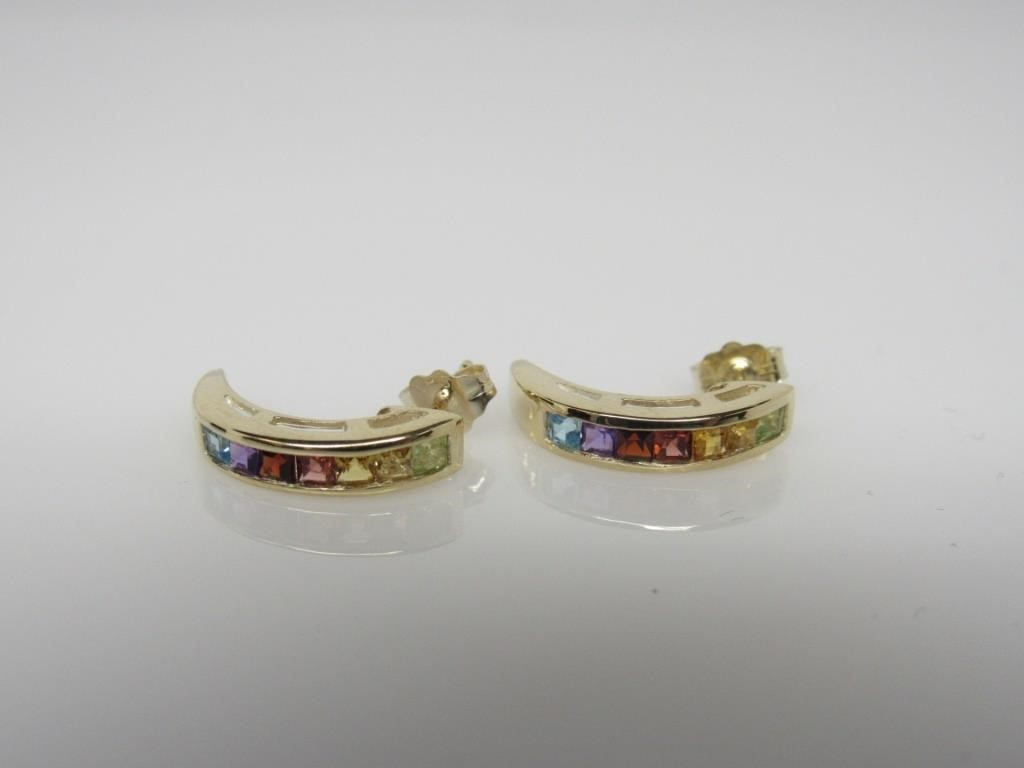 18K RAINBOW COLLECTION EARRINGS - 187