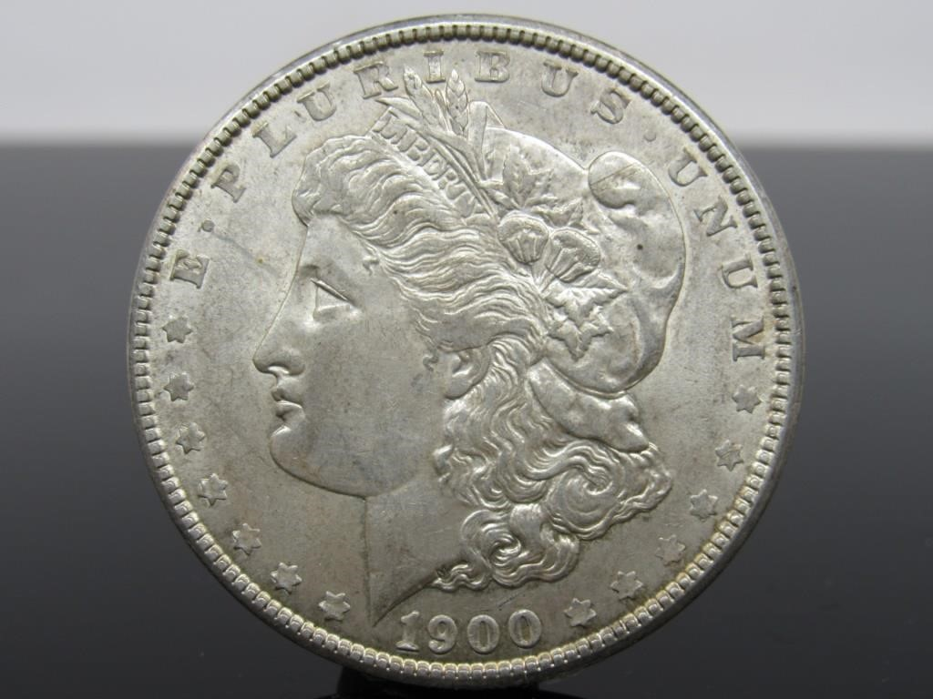1900-P MORGAN SILVER DOLLAR - 15