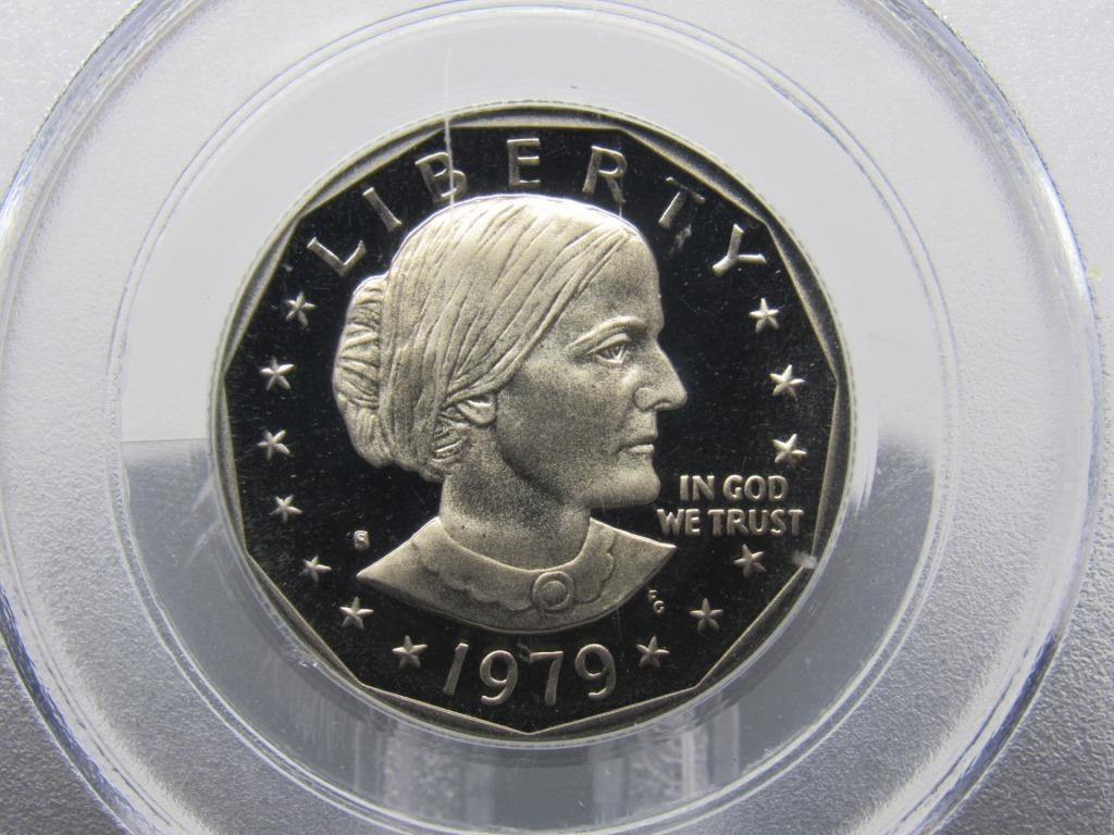 1979 - S SUSAN B. ANTHONY DOLLAR COIN - 5