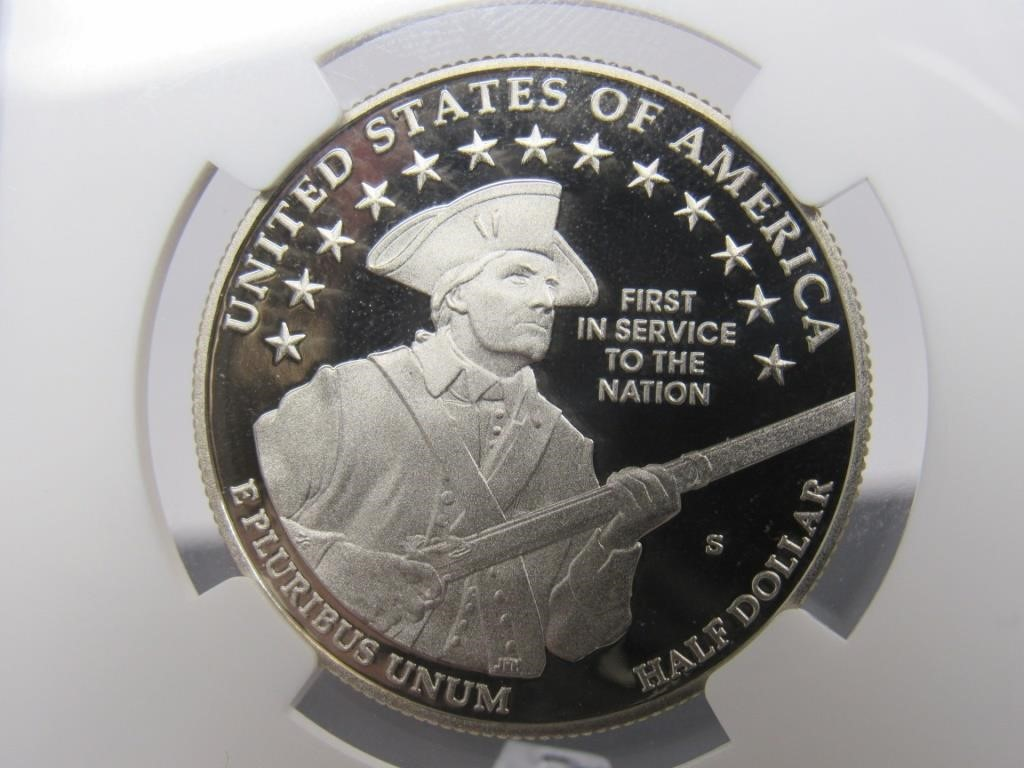 2011 - S U.S. ARMY COMMEMORATIVE 50 CENT COIN - 283