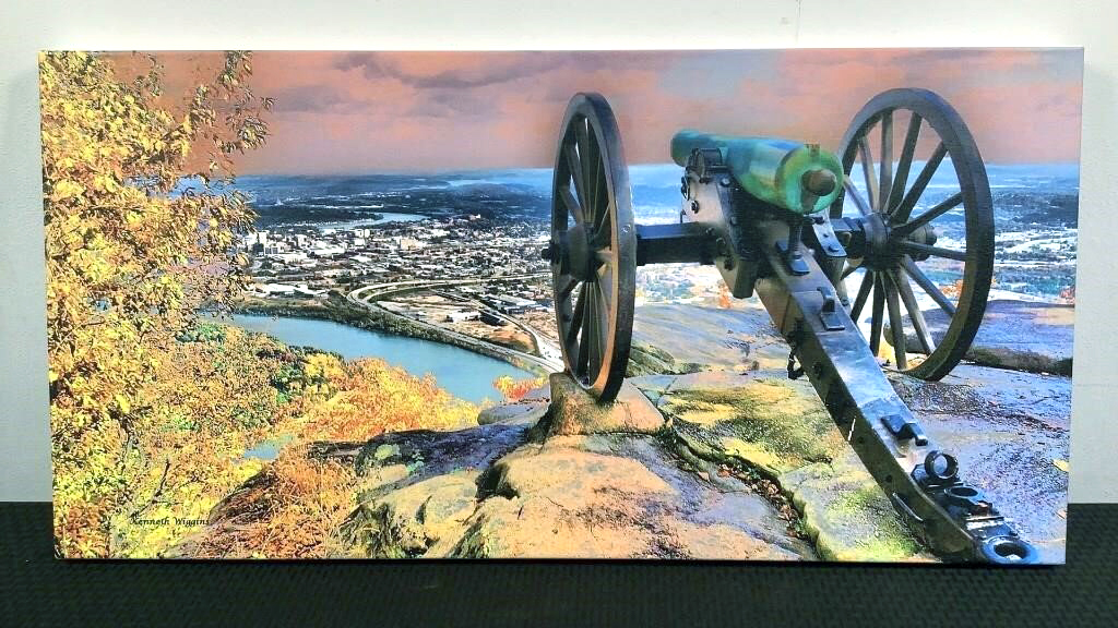Lookout Point Over Chatt Kenneth Wiggins Print - 73