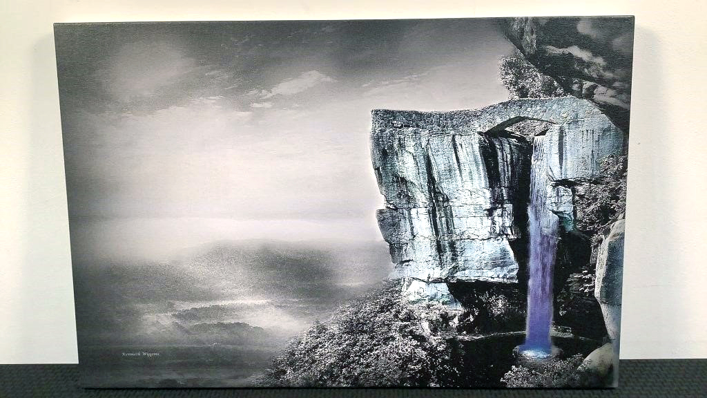 Lovers Leap At Rock City Kenneth Wiggins Print -76