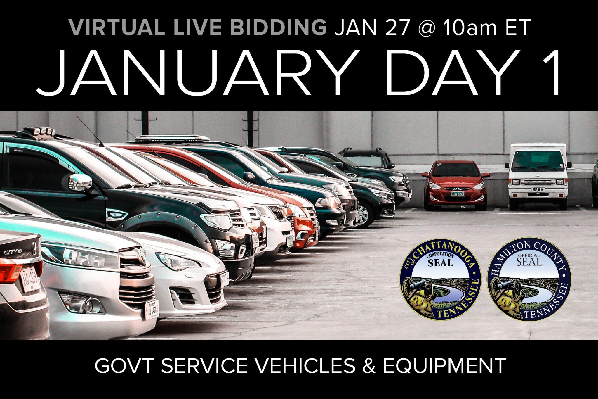 January Day 1 Vehicles
