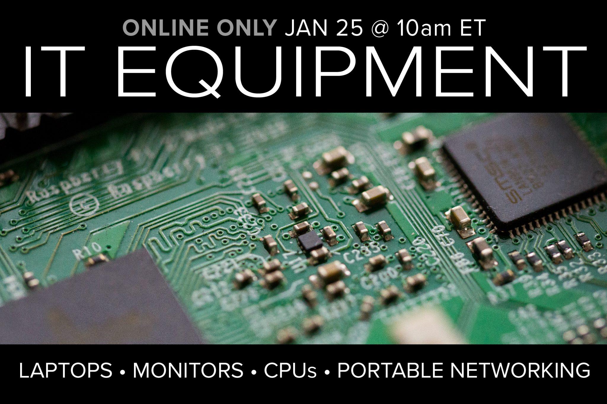 IT Equipment jan 25