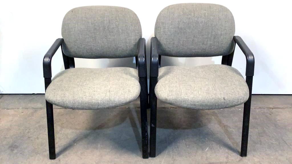 (2) Hon Waiting Room Chairs - 192