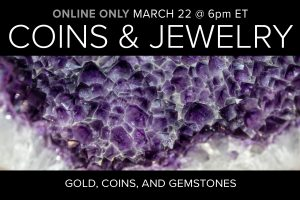 Coins and Jewelry Auction Online Only Compass Auctions