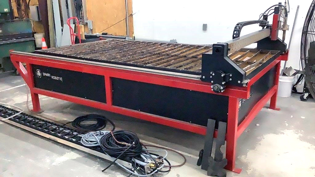 Burn Table with Plasma Cutter - 100z