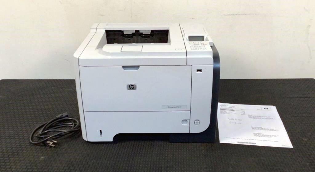 HP Black & White Printer P3015 - 149