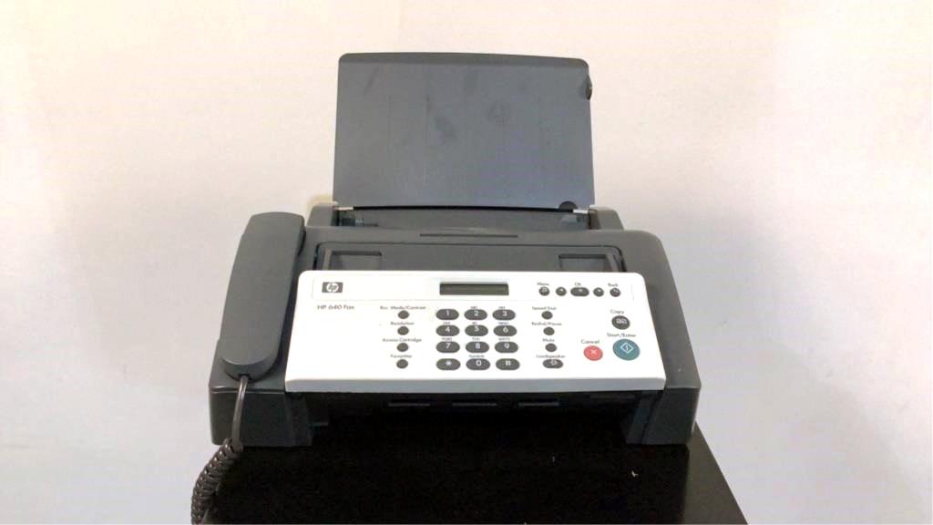 HP Fax 640 - 152