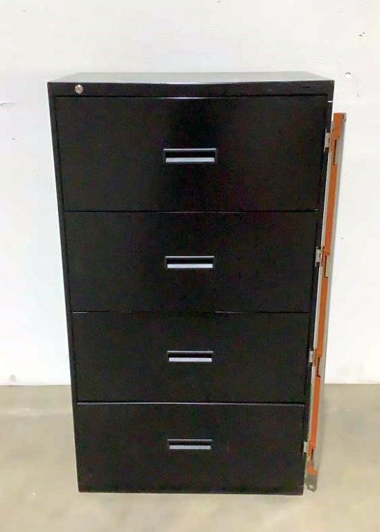 Hon Lateral 4 Drop Drawer File Cabinet - 204
