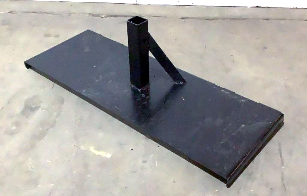 Receiver Hitch Skid Steer Attachment - 127a