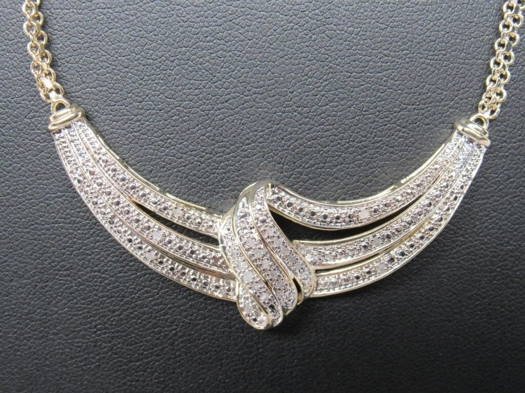 0.5 ct Diamond Evening Necklace - 4