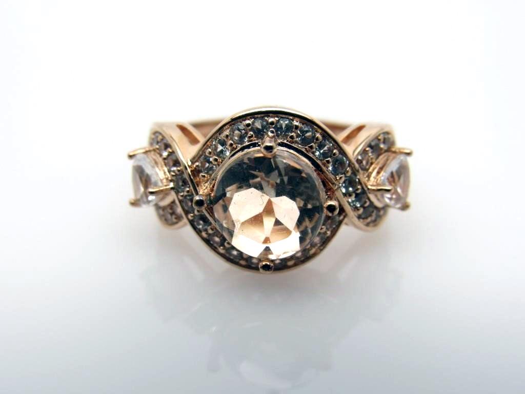 2.50 ct Morganite Ring - 167