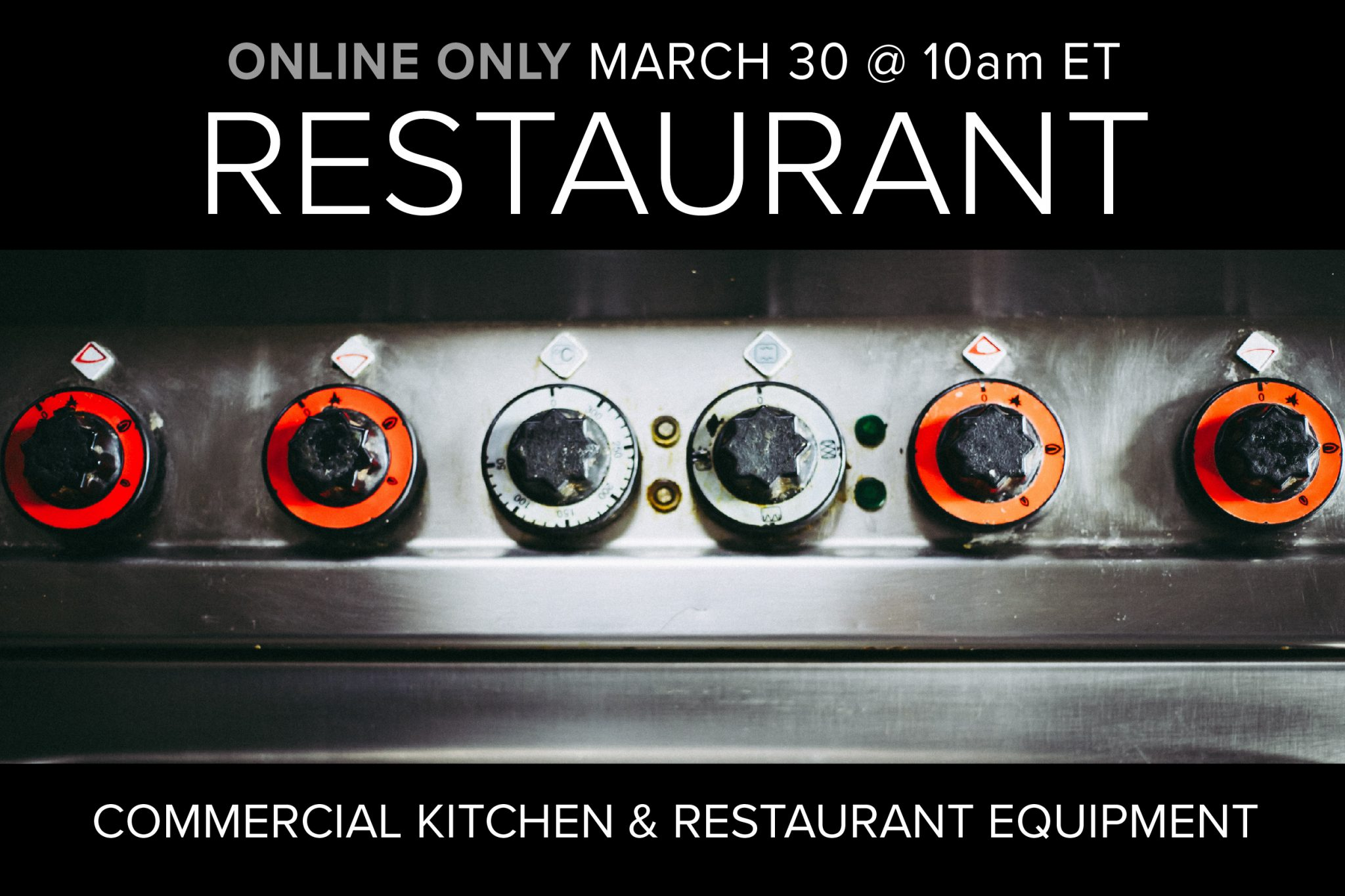Restaurant Auction Online Only Compass Auctions