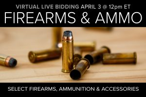 Firearms and Ammo Auction Virtual Live Bidding Compass Auctions