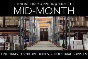 April Mid-Month Auction Online Only Compass Auctions
