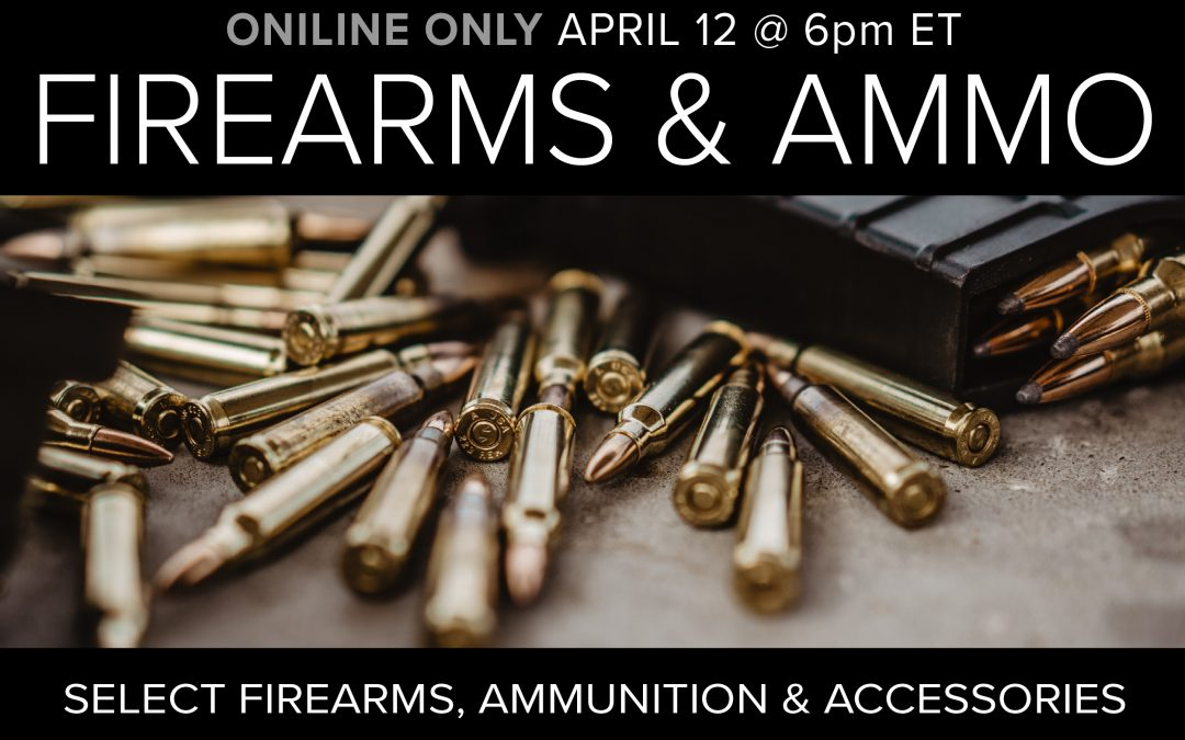 Firearms, Ammo, and Accessories
