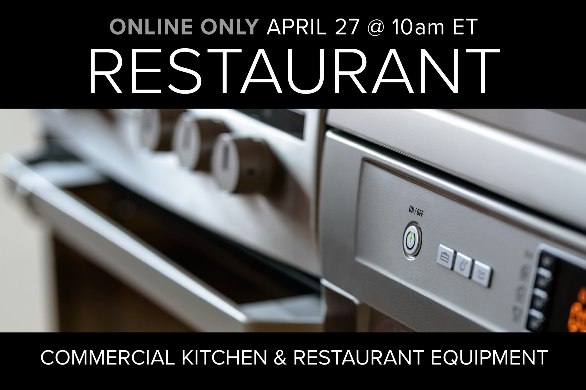 Restaurant Equipment and Supplies Auction Online Only Compass Auctions