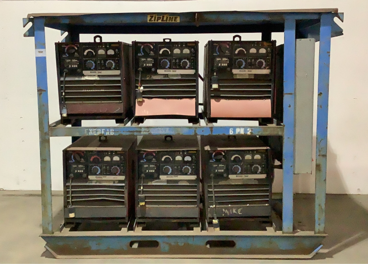 Lincoln Electric 6 Pack Welding Unit DC - 400