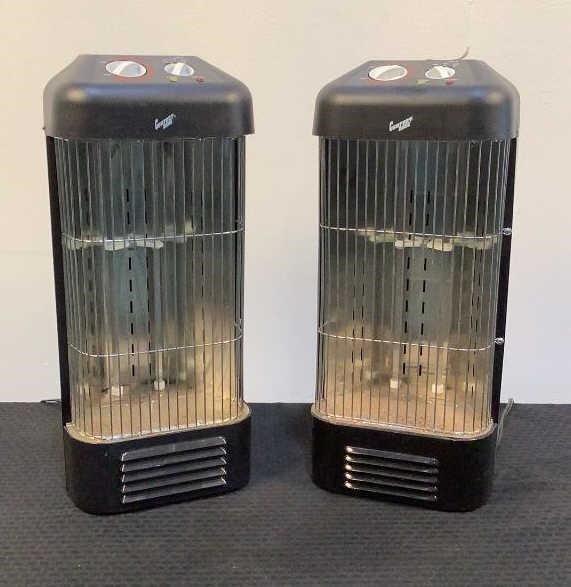 (2) Comfort Zone Electric Heaters CZQTV6 - 822