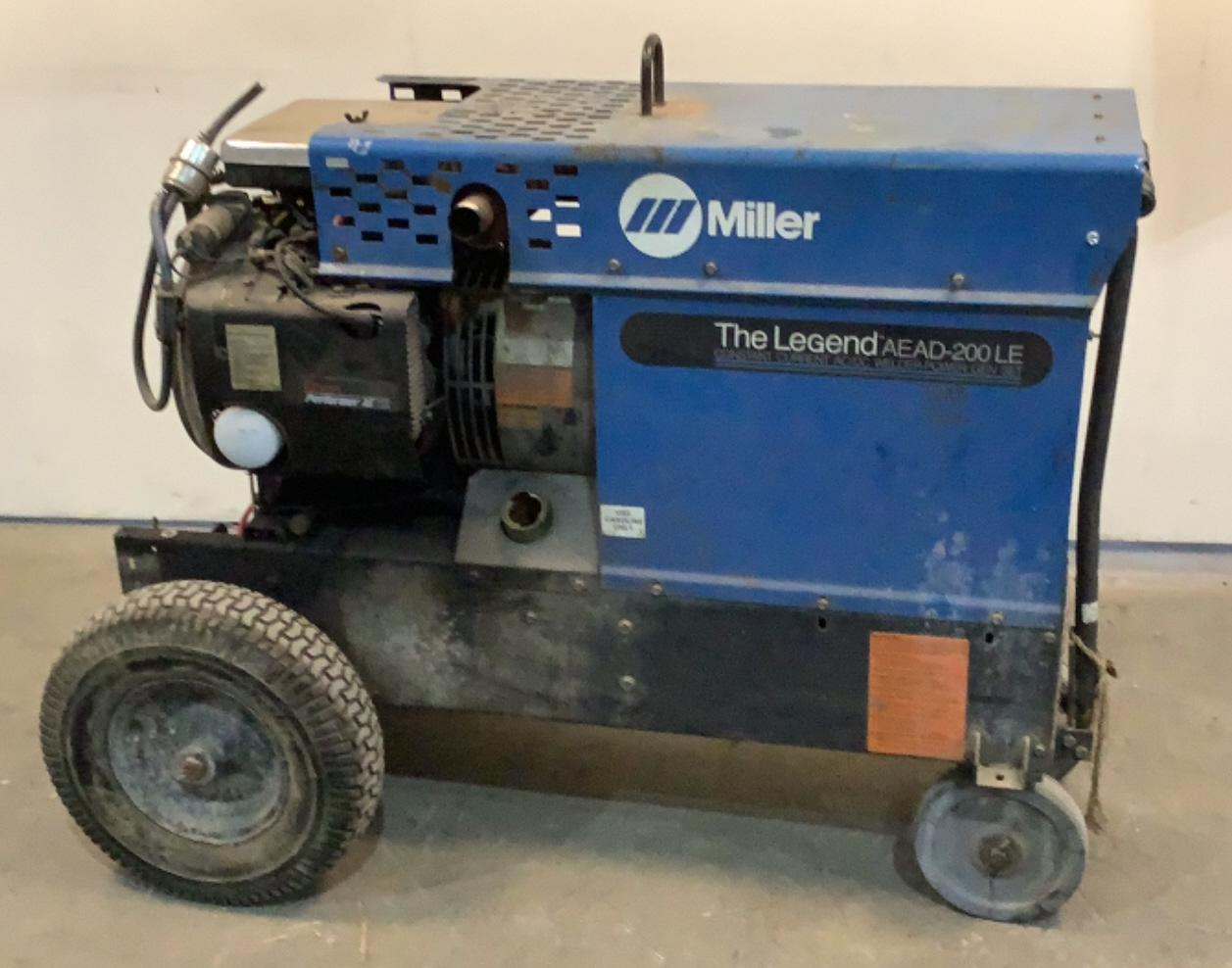 Miller Constant Current AC/DC Welder 903039