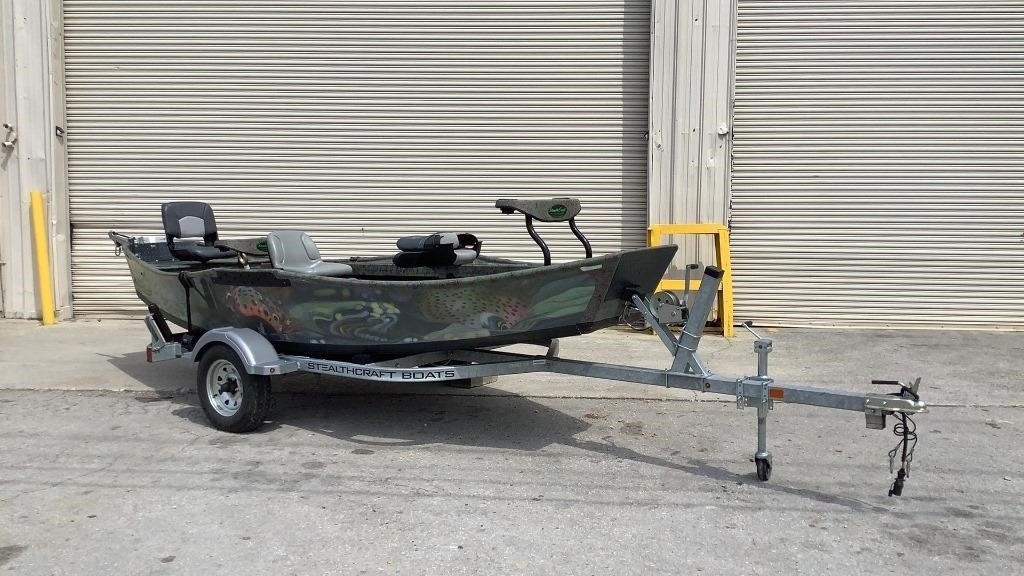 2017 StealthCraft Sniper 13' Drift Boat - 190