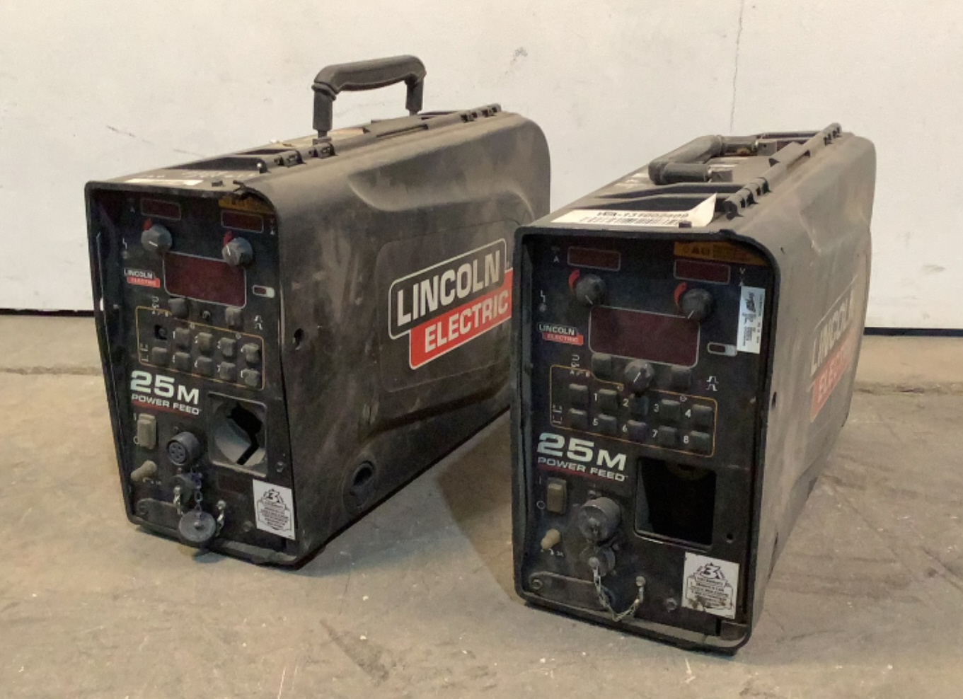 (2) Lincoln Electric Wire Drive System 25M