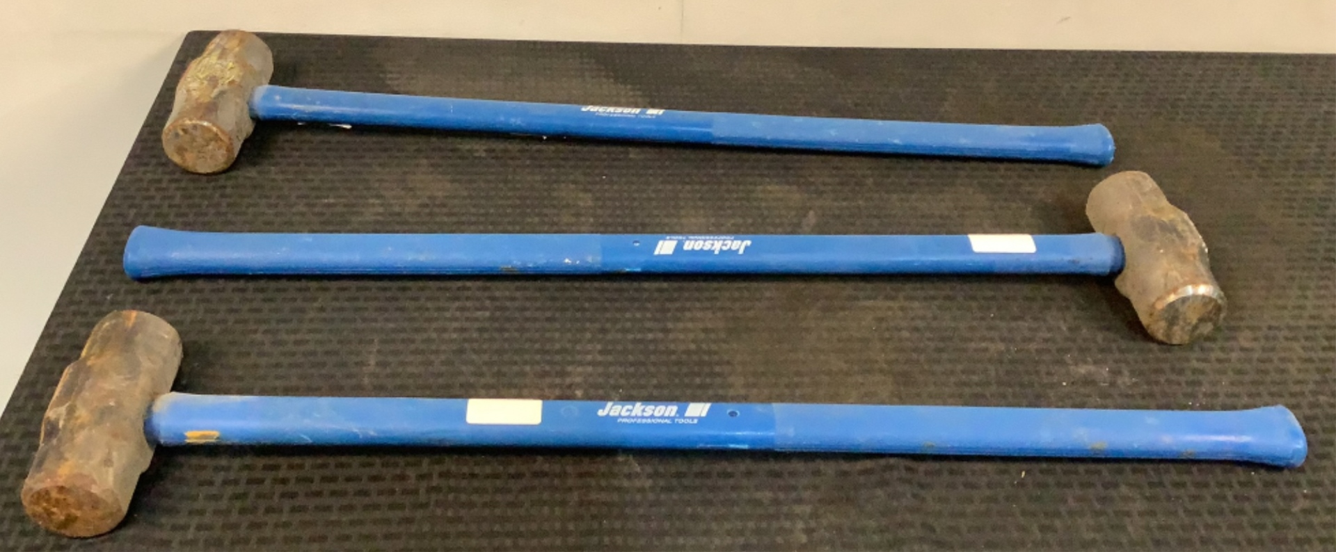 (3) Jackson 8 lb Sledge Hammers