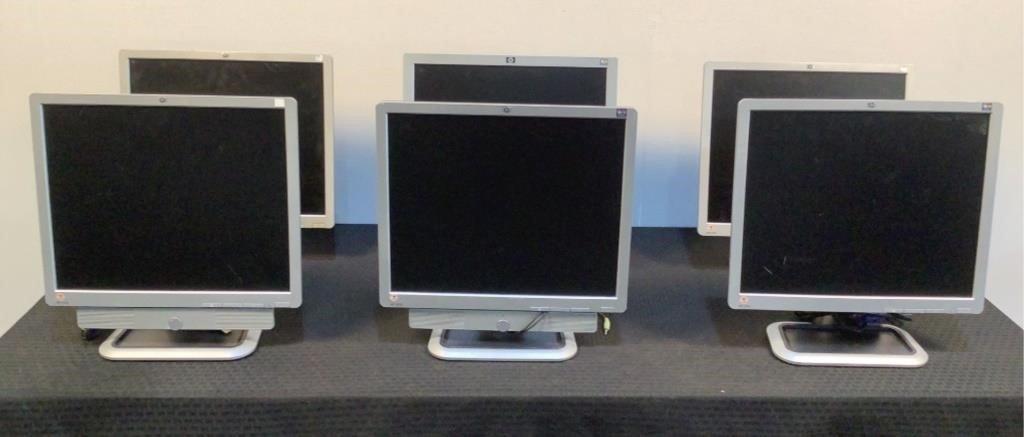(6) HP 19 Monitors - 151