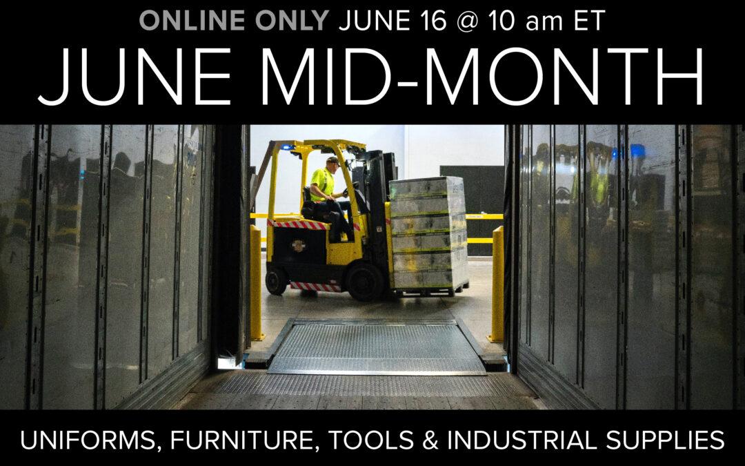 June Mid-Month Auction