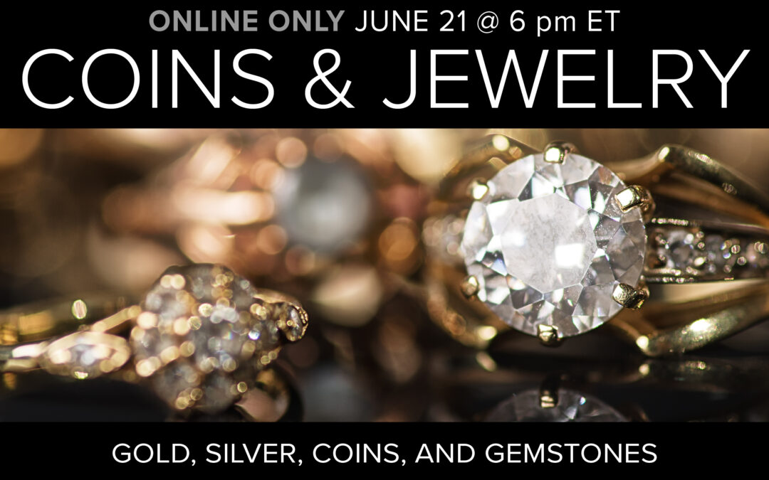 Jewelry, Coins, and Collectibles