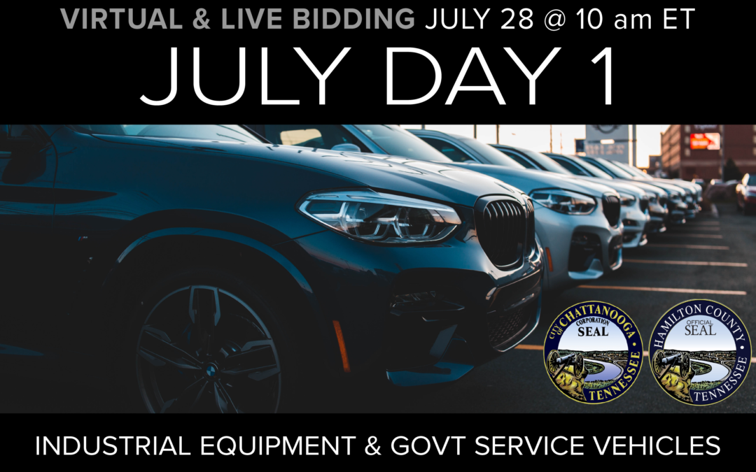 July Monthly Day 1 Auction