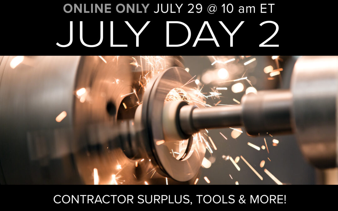 July Monthly Day 2 Auction
