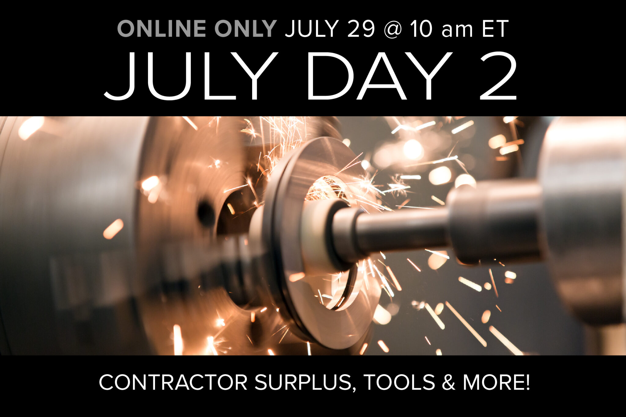 July Day 2 Online Only Auction on July 29 at 10am ET