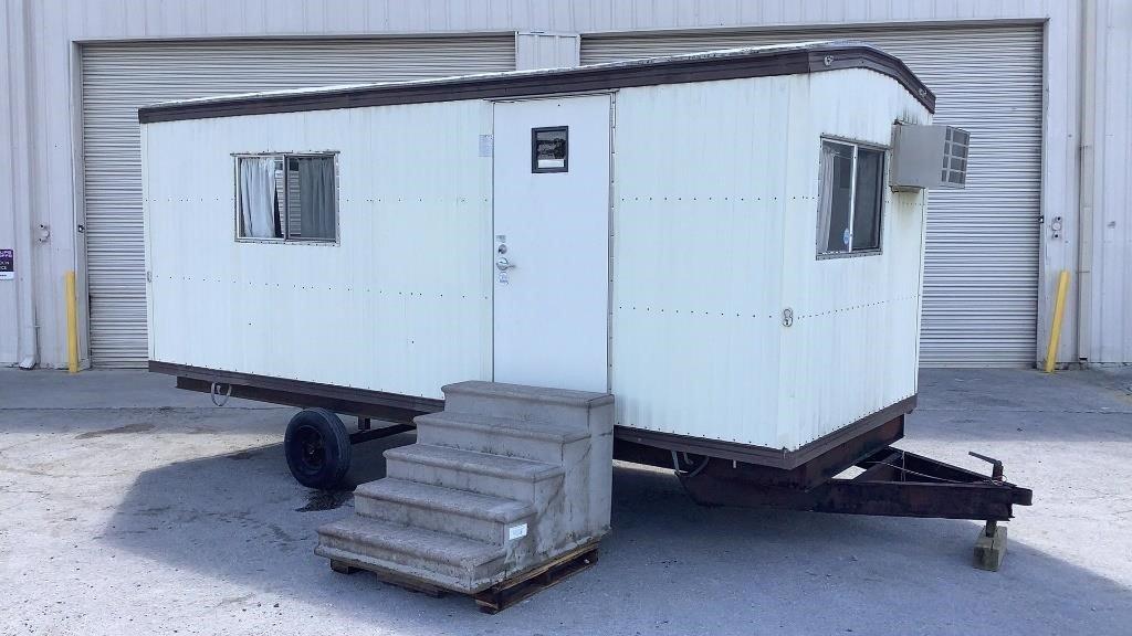 2001 King's Custom Builders 20' Mobile Office Trai