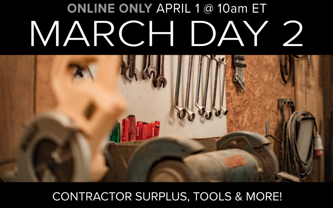 March Monthly Day 2 Auction