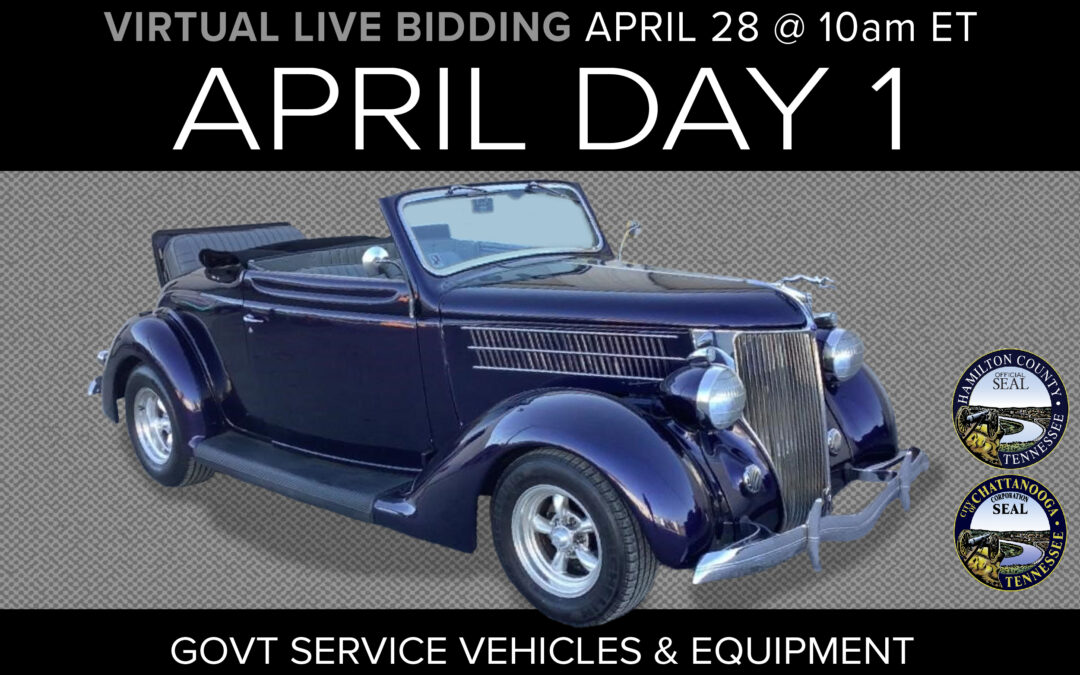 April Monthly Day 1 Auction