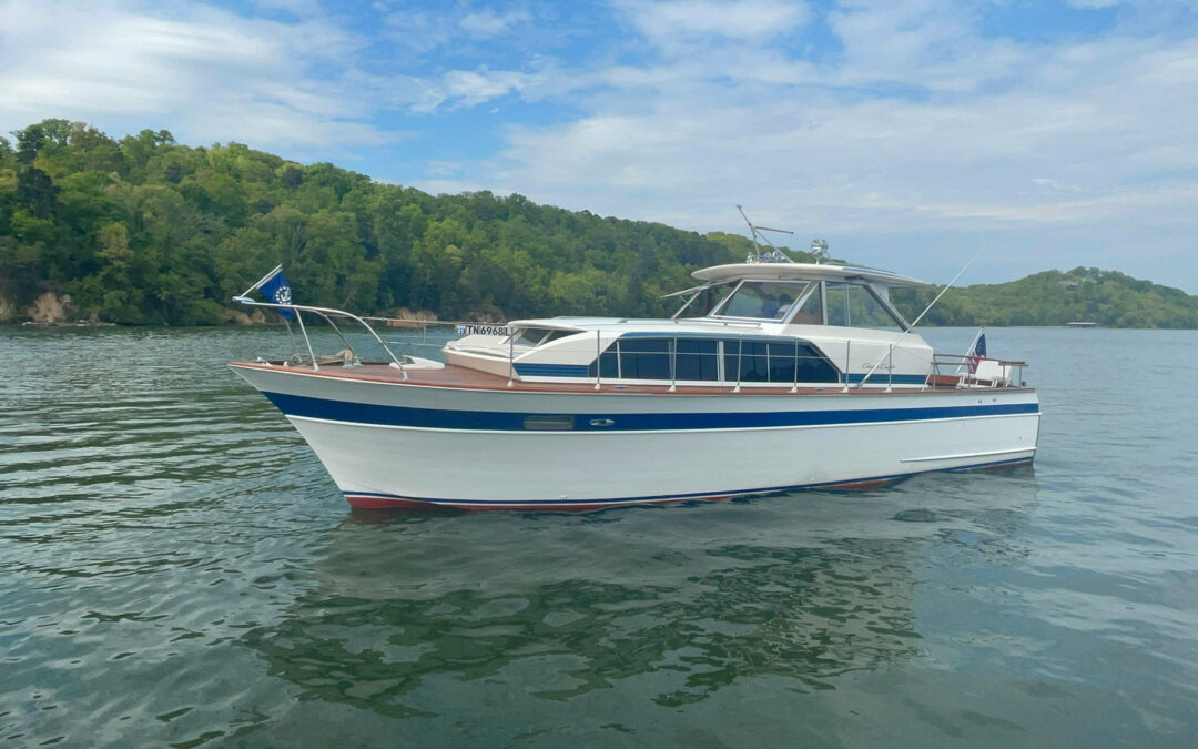 Compass To Auction Chris-Craft Boat With Chattanooga History