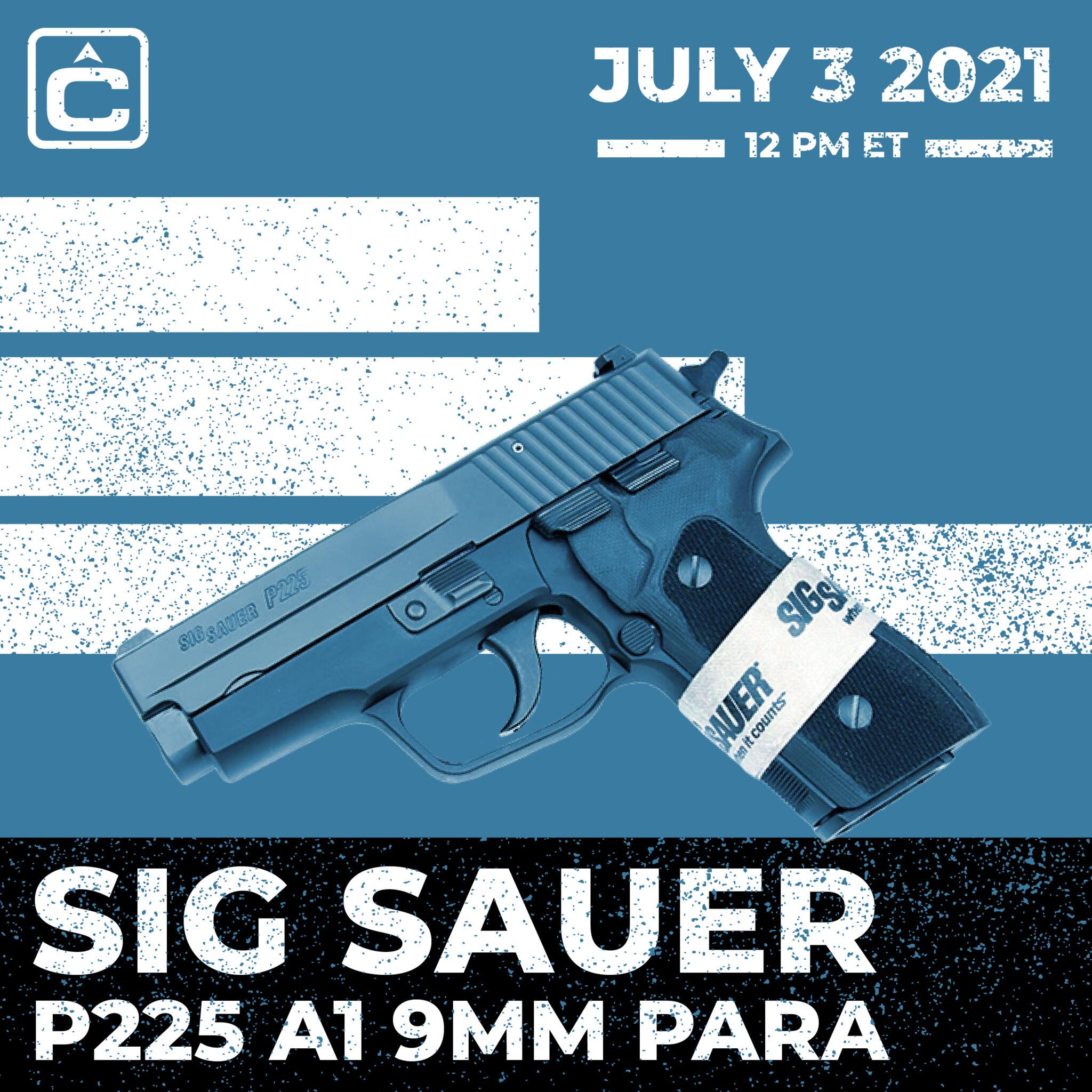 SIG SAUER P225 A1 9MMM PARA