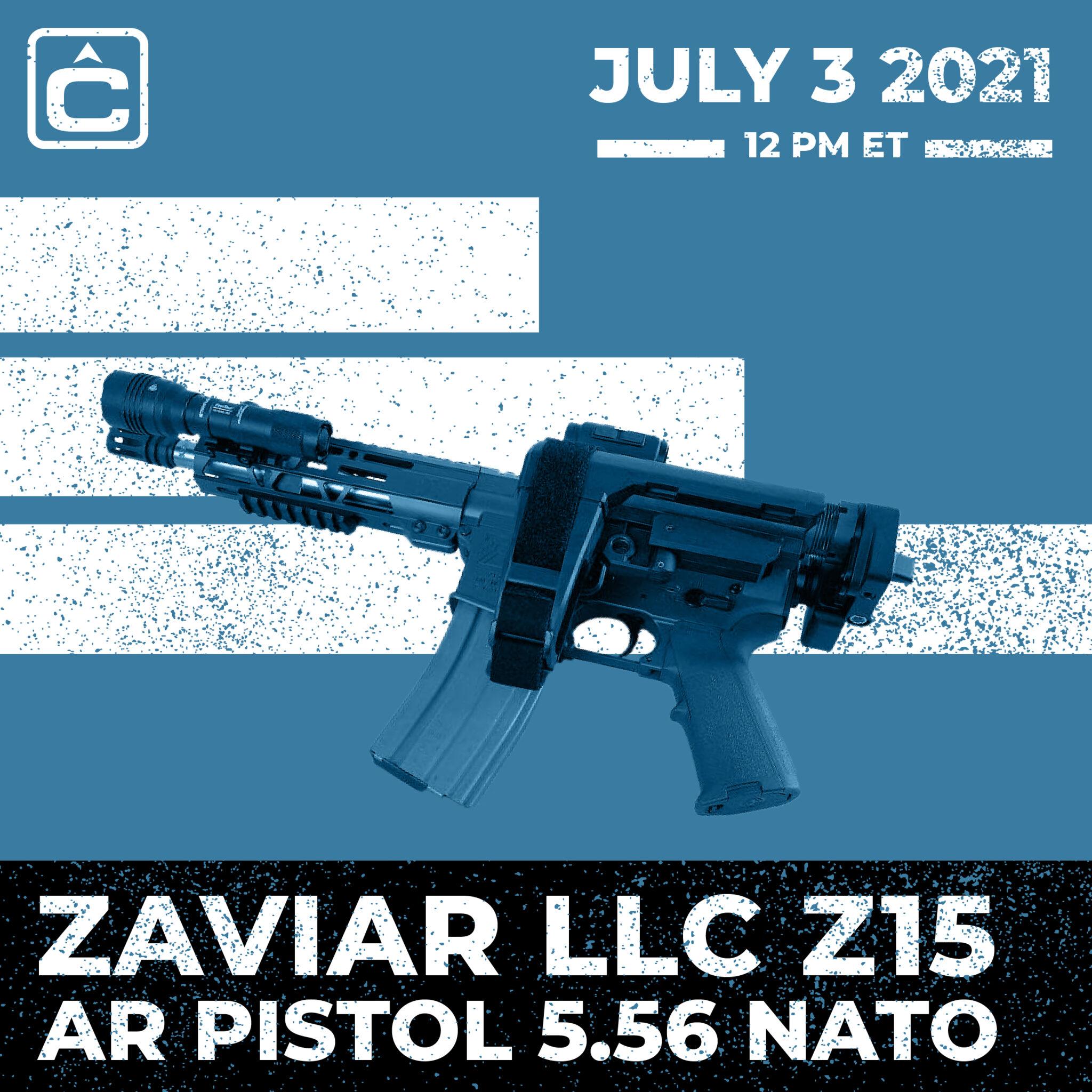 Zaviar LLC Z15 AR PISTOL 5.56 NATO