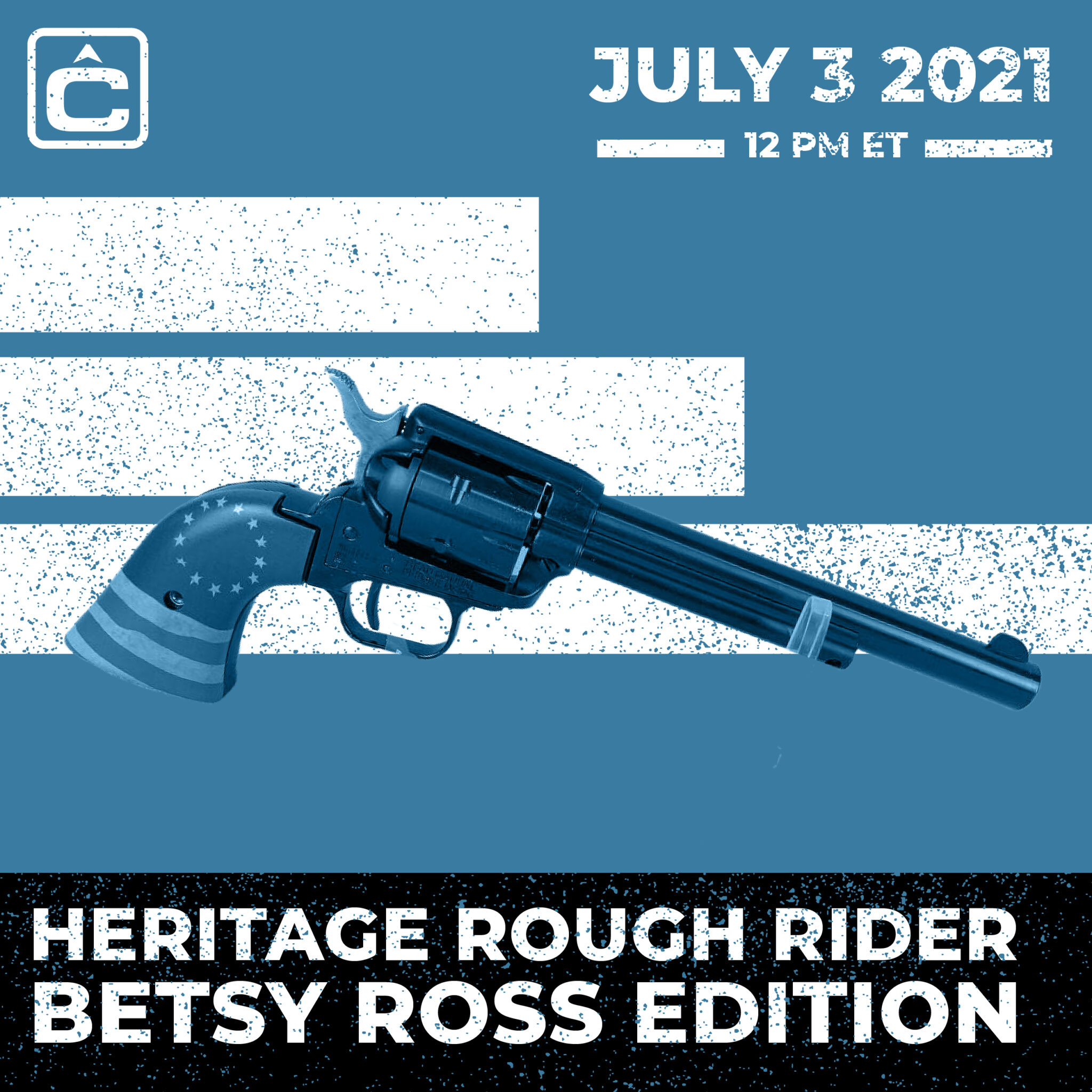 HERITAGE ROUGH RIDER - BETSY ROSS EDITION