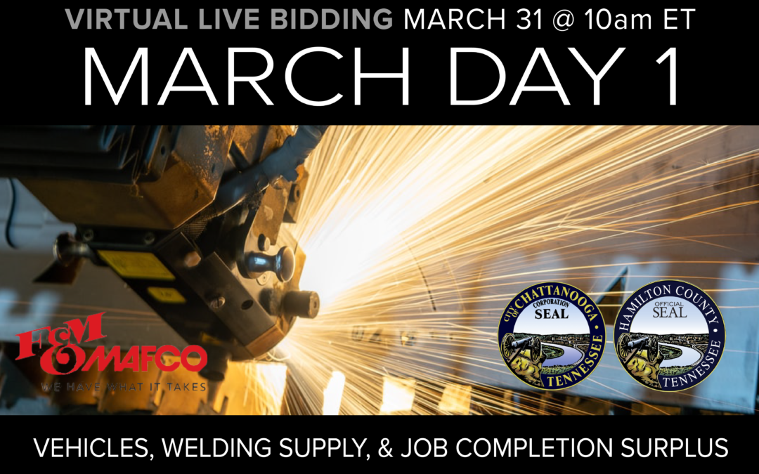 March Monthly Day 1 Auction